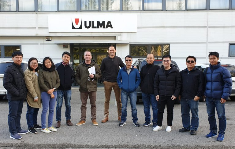 Visit of the Thai energy company EGAT to ULMA Conveyor Components
